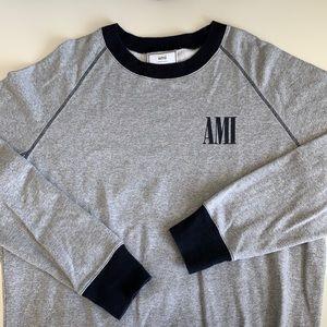 ami alexandre mattiussi sweatshirt size L in EUC